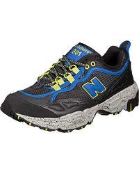 1c8f127a6987d New Balance Steel Toe 627 Suede Cross-trainer Shoe in Black for Men ...
