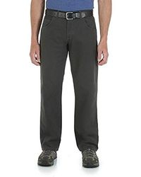 Wrangler - Big Rugged Wear Relaxed Fit Straight Leg Pant - Lyst