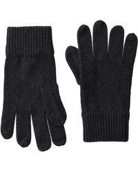 Tommy Hilfiger PIMA Cotton Gloves Handschuhe - Grau