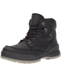 Ecco Track 25 High Gore-tex Waterproof Outdoor Hiking Boot - Black