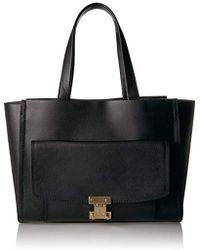 Ivanka Trump - Stanton Luggage Shopper Black - Lyst