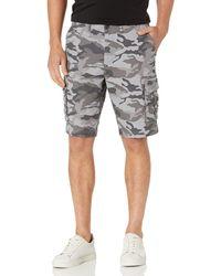 Goodthreads : pantalones cortos de lona elásticos para - Gris