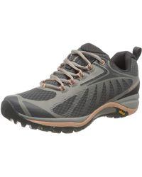 Merrell Womens Siren Edge 3 Waterproof Hiking Shoe - Gray