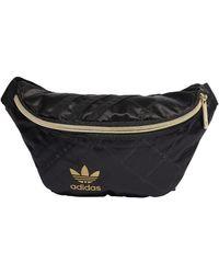 adidas H09037 Waistbag Nylon Sports Pouch Women's Black Ns