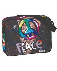 Fossil 'peace' Messenger Bag, 40 Cm, Multi-colour - Multicolour