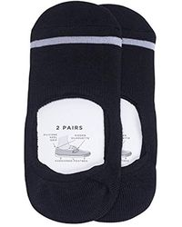 Tretorn 2-pack Athletic Liner Socks - Black