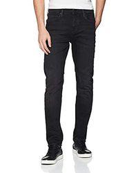True Religion Rocco Lacey Black Slim Jeans - Schwarz