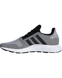 adidas Swift Run - CBLACK/CBLACK/FTWWHT, Größe:7 - Mehrfarbig