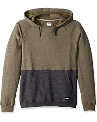Hurley - Crone Marled Textured Pullover Hoodie - Lyst