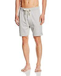 Tommy Hilfiger Icon HWK Short Bas de Pyjama - Gris