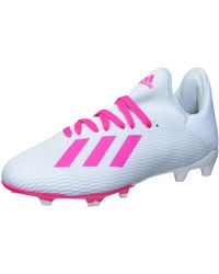 adidas X 19.3 Firm Ground Soccer Shoe - Pink