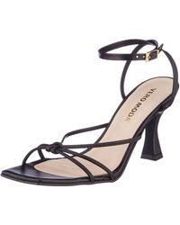 Vero Moda Vmlivo Leather Sandal - Black