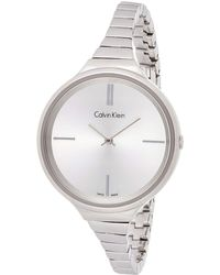 Calvin Klein Reloj - Mujer K4U23126 - Metálico
