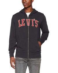 Levi's - Graphic Zip Up Hoodie G - Lyst