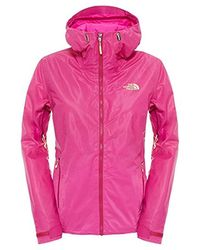 The North Face Outdoor Jacket Fuseform Dot Matrix Insulated Outdoor Ja - Purple