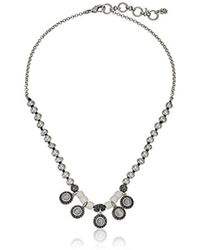 Lucky Brand - Bone Collar Necklace - Lyst