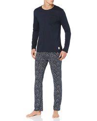 Esprit Jenson Nw Pj.a.ls_ll Pyjama Set - Blue