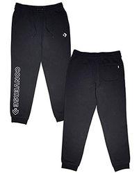3dd70847ec7ce Sweat Trousers Chevron - Black