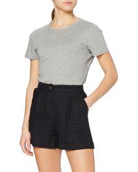 FIND Linen Shorts - Black