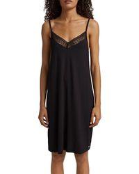 Esprit Bodywear 051ef1y304 Nightgown - Black