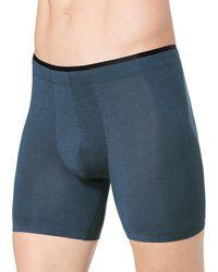 Sloggi Boxershorts SLM S Sophistication Short - Blau