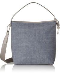 Fossil Damentasche ? Maya Small Hobo - Blue