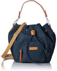 Gabor Alice Bucket Bag - Blau
