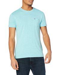 Tommy Hilfiger Tjm Essential Pocket Tee T-shirt - Blue