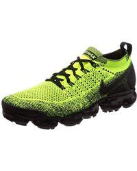 5fa6dfe280a6d Air Vapormax Flyknit 2 Fitness Shoes - Black