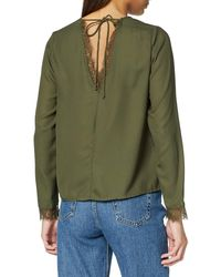 Vero Moda Vmcali Ls Shirt Wvn Lcs Blouse - Green