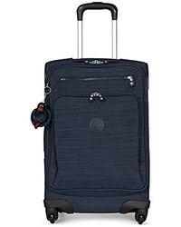 Kipling Unisex-adult's Youri Spin 55 Dazz Black Small Wheeled Luggage - Blue