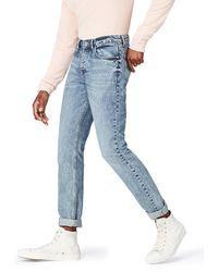 FIND Jeans Scuro a Gamba Dritta Uomo - Blu