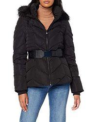Guess Petra Down Jacket Manteau - Noir