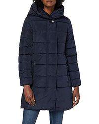 Tom Tailor Puffer Winter Mantel - Blau