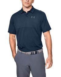 Under Armour Ua Vanish Polo Shirt Colour Block - Blue