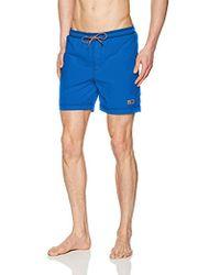 34fd8cddac Orlebar Brown 'bulldog Hulton Getty' Waterskiing Photo Print Swim Shorts in  Blue for Men - Lyst