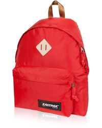 Eastpak Sac à dos nylon rouge Padded Pack'r pour homme