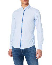 Springfield Camisa Tapeta - Azul