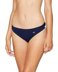 Tommy Hilfiger Classic Flag Bikini Braguita Mujer - Azul