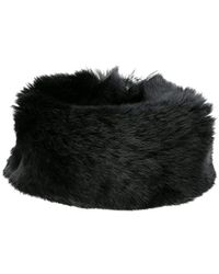 SOIA /& KYO Womens Kyrie Dyed Fur Snap Bracelet with Round Tin Gift Box