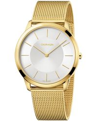 Calvin Klein Reloj - Hombre - Metálico