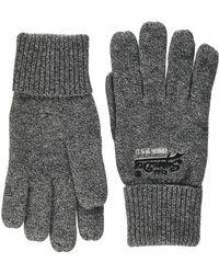 Superdry Orange Label Glove Gants - Gris