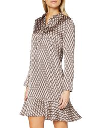 Mexx - Long Sleeve Dress with Printed Abito - Lyst