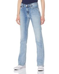 Tommy Hilfiger Hilfiger Denim Mid Rise Boot Tj 1979 Dxlt Bootcut Jeans - Blue