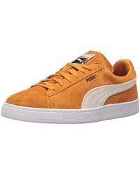 purchase cheap 1e4ba 017c0 PUMA Suede Classic + Black Inca Gold Casual Shoe 4 Men Us in ...