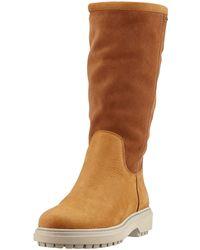 Geox D Asheely Np Abx D High Boots - Brown