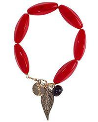 Desigual - Bracelet chaîne pour Femme en verre - 7.8 - Lyst