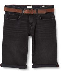 Esprit 040ee2c358 Pantalones Cortos de Jean - Azul