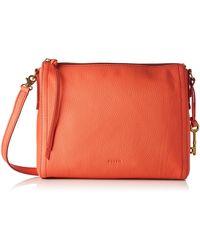 Fossil Emma, 's Cross-body Bag, Orange