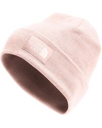 The North Face Dock Worker Recycled Beanie - Rose